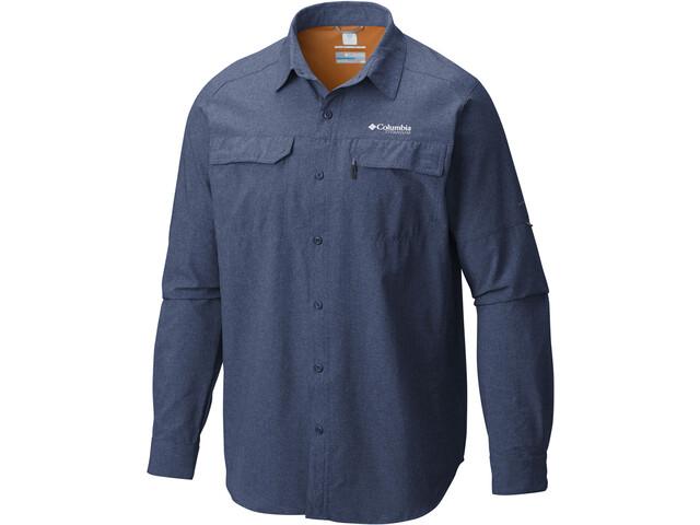 Columbia Irico LS Shirt Men carbon heather